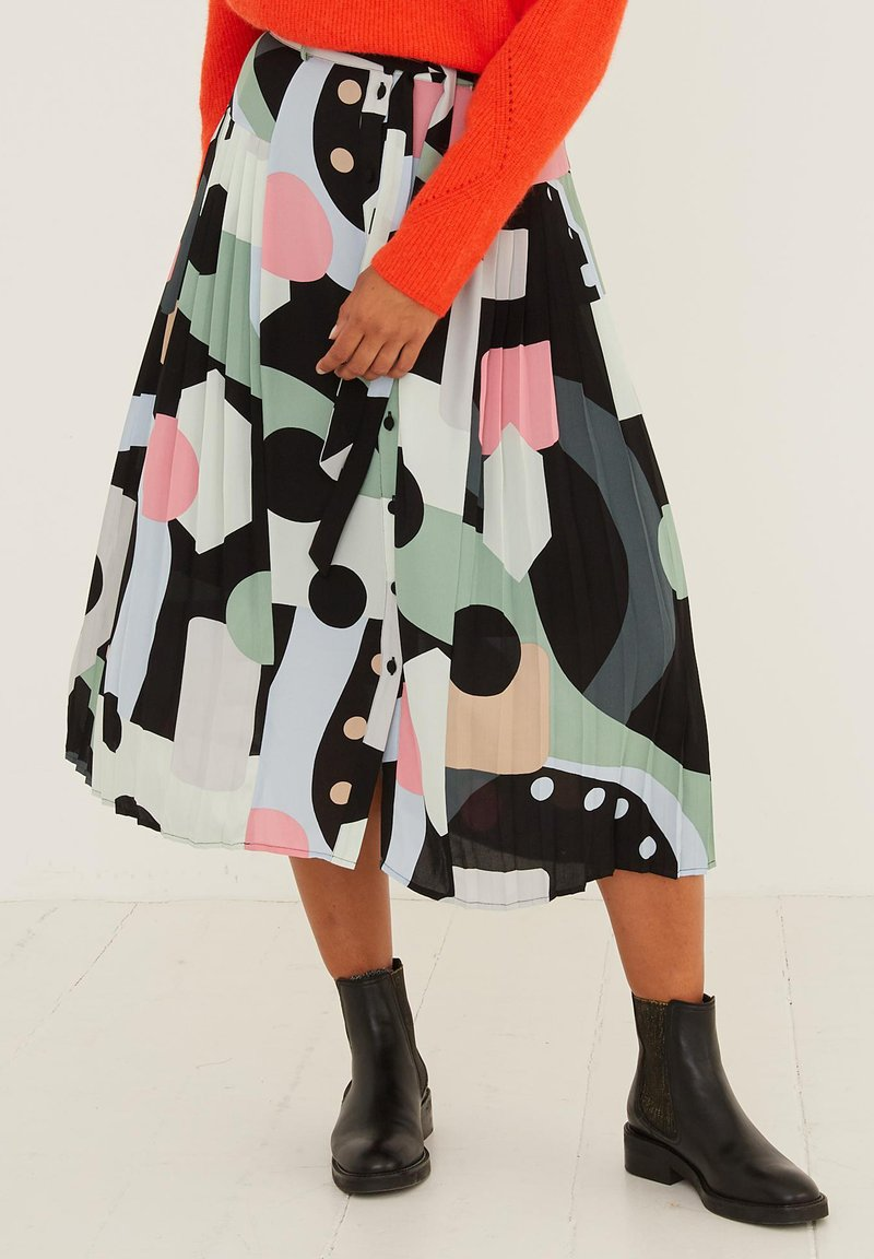 Oliver Bonas - A-line skirt - black