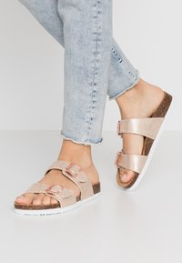 Anna Field - Slippers - rose gold - 0