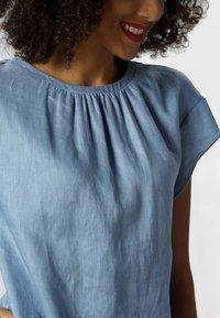 Apart - LINEN DRESS - Vestito estivo - lightblue - 2