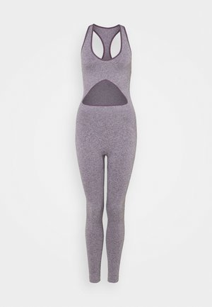 CUT OUT SEAMLESS  - Gym suit - purple