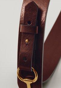 Massimo Dutti - MIT DOPPELTER TRENSE - Waist belt - brown - 4