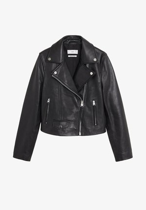 SIBILA6 - Leather jacket - czarny