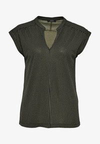 Opus - SANDI CHECKED - Blouse - taupe - 2