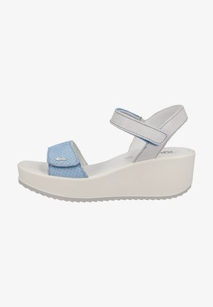 Wedge sandals - cielo