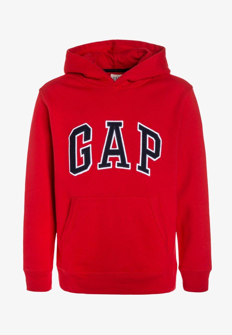 GAP - BOYS ACTIVE ARCH  - Bluza z kapturem - pure red