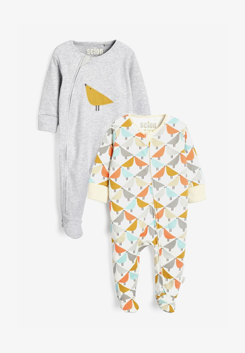 Next - SCION LIVING EXCLUSIVELY TO NEXT FOOTLESS SLEEPSUITS TWO PACK - Sleep suit - multi-coloured