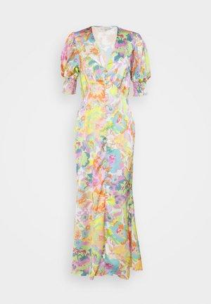 BLOSSOM SHORTSLEEVE LINDOS DRESS - Długa sukienka - multi