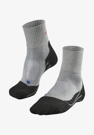 TK2 SHORT COOL - Chaussettes de sport - light grey