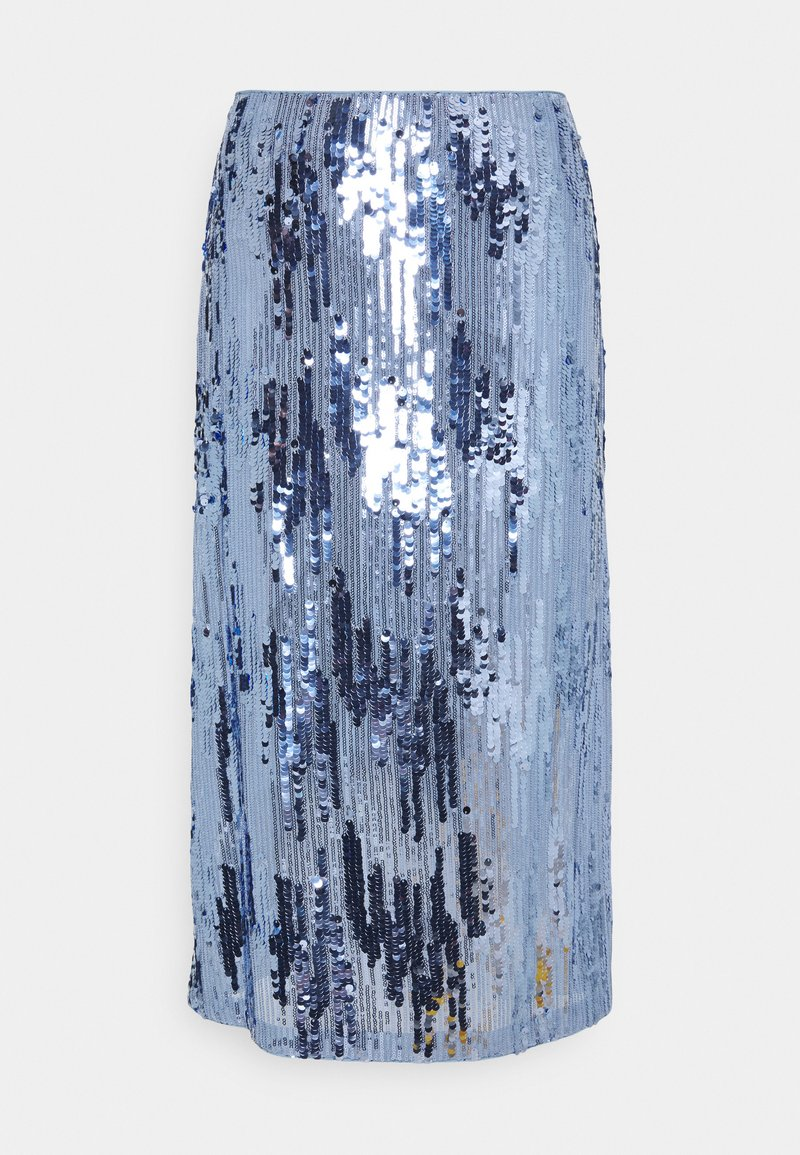 HUGO - ROLEA - A-line skirt - bright blue