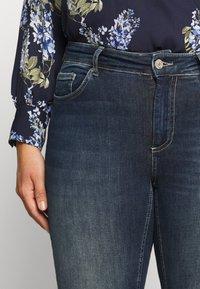 ONLY Carmakoma - CARWILLY - Jeans Skinny Fit - dark blue denim - 3
