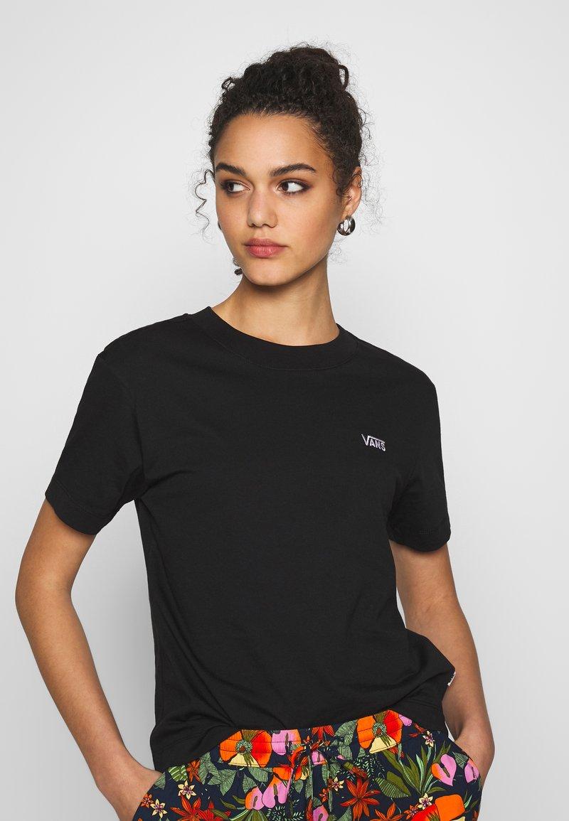 Vans - BOXY - T-shirt basic - black