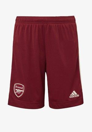 ARSENAL FC AWAY AEROREADY SHORTS - Pantalón corto de deporte - burgundy