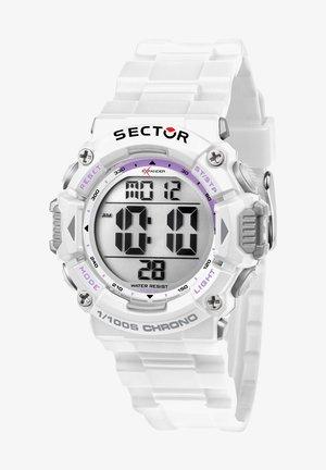 Digitaal horloge - weiß