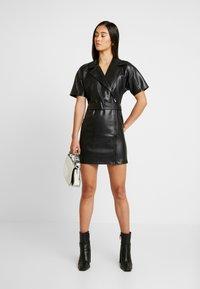 Ivyrevel - BELTED DRESS - Day dress - black - 2