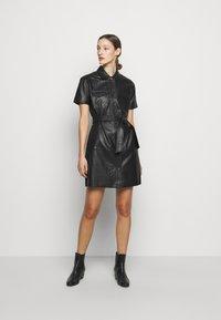 2nd Day - FRODEY - Košilové šaty - black - 1