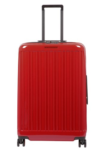 SEEKER - Wheeled suitcase - red