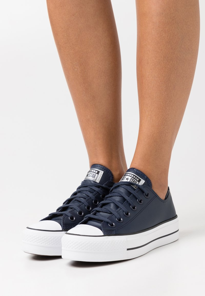 Converse - CHUCK TAYLOR ALL STAR PLATFORM - Baskets basses - obsidian/white/black