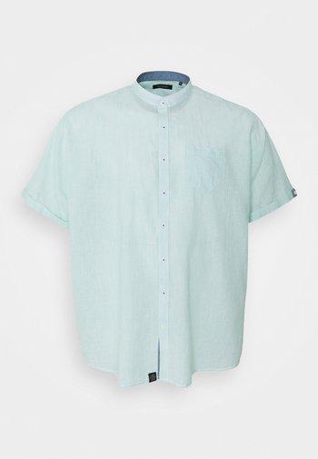 MANDARIN STRIPED SHIRT - Shirt - mint