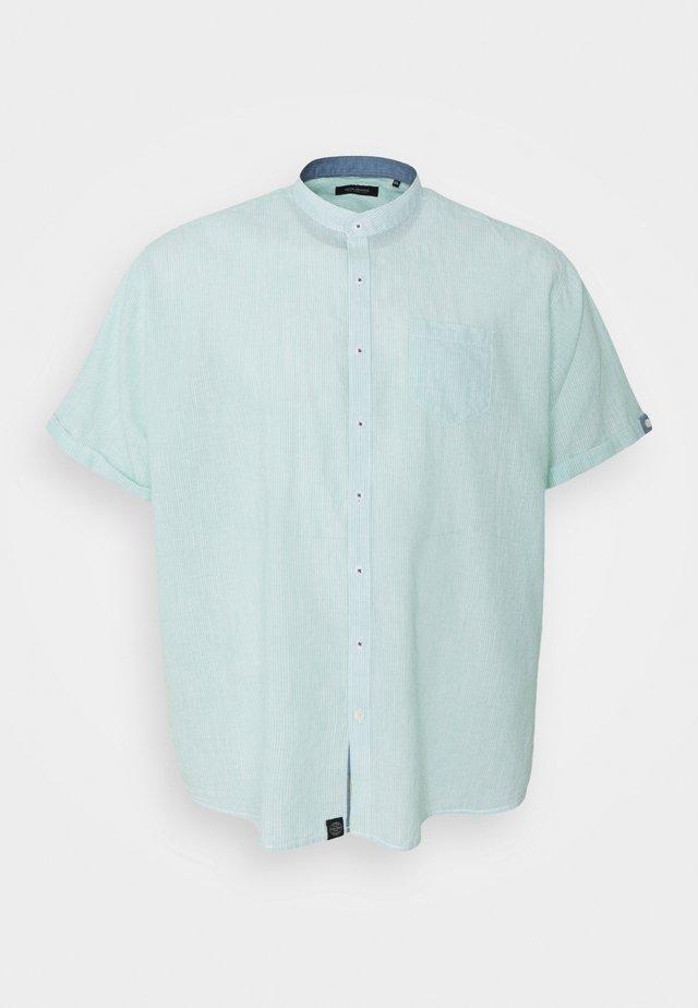 MANDARIN STRIPED SHIRT - Skjorte - mint