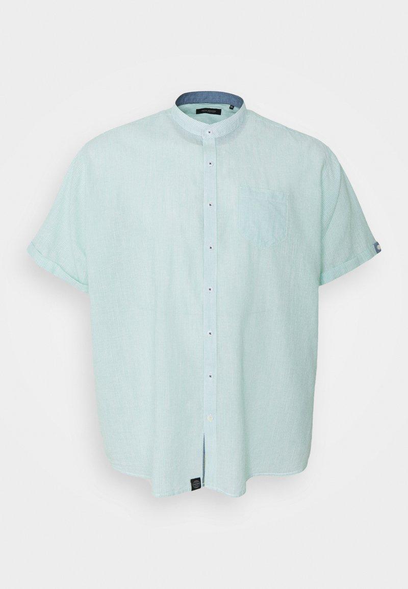 Shine Original - MANDARIN STRIPED SHIRT - Shirt - mint