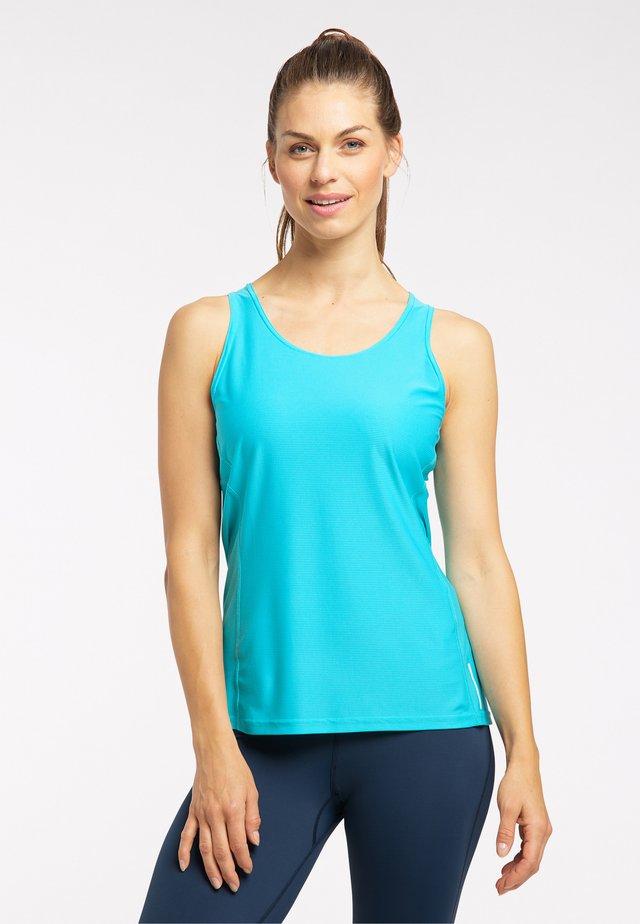 FUNKTIONS L.I.M TECH TANK - Sports shirt - maui blue