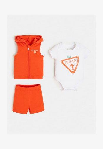 SET  - Waistcoat - orange