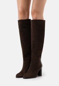 MAX&Co. - ARCADIA - Boots - dark brown - 0
