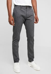 TOM TAILOR - Chinot - dark grey grindle - 0