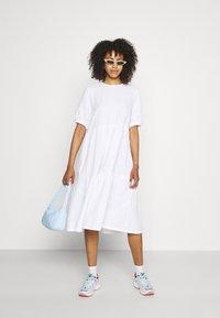 Monki - Day dress - white light unique - 1