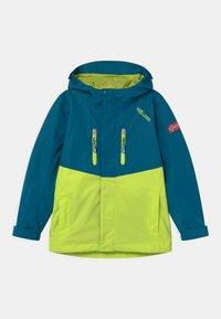 TrollKids - NUSFJORD UNISEX - Hardshell jacket - petrol/lime - 0