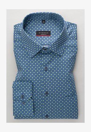 MODERN FIT - Shirt - grün/blau