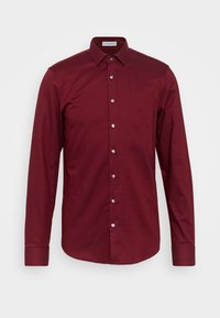 STRUCTURE EASY CARE SLIM SHIRT - Skjorta - red