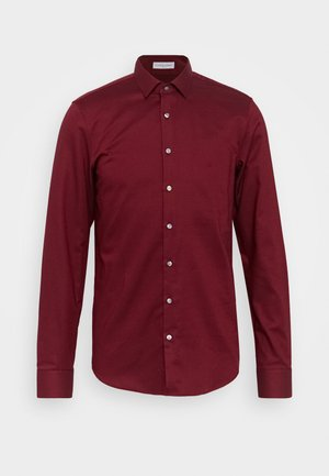 STRUCTURE EASY CARE SLIM SHIRT - Shirt - red