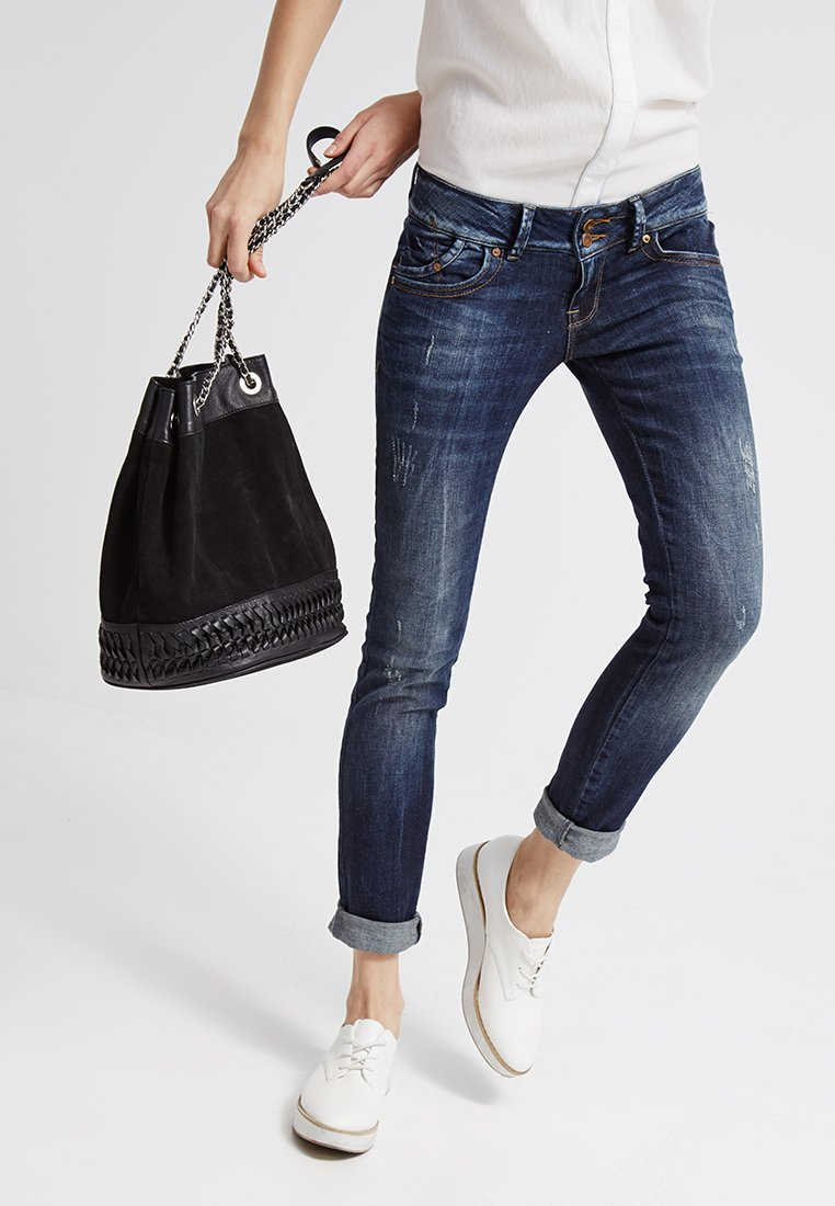 LTB MOLLY - Jeans Slim Fit - oxford wash/blue denim dfbqmM
