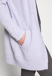 Pieces - PCELLEN  - Cardigan - purple heather - 5