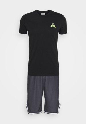 UNISEX SET - T-shirt med print - black
