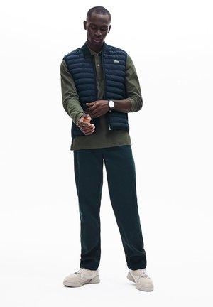 Waistcoat - bleu marine / vert kaki