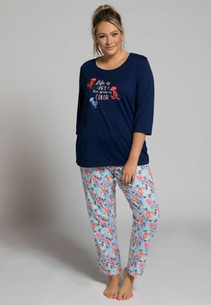 2 PIECE SET - Pyjamas - navy