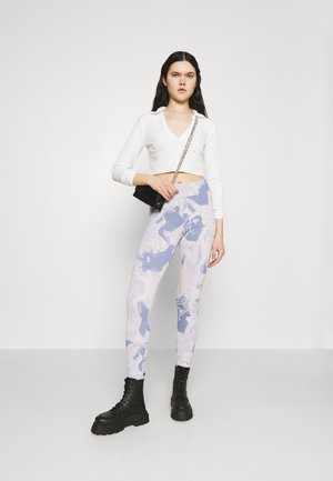 FREDDIE TOP - Långärmad tröja - white