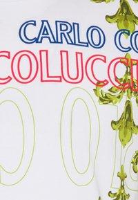 Carlo Colucci - UNISEX - Triko spotiskem - white - 5