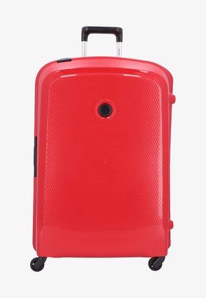 BELFORT - Wheeled suitcase - red