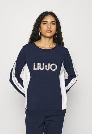 FELPA CHIUSA - Sweatshirt - blu navy
