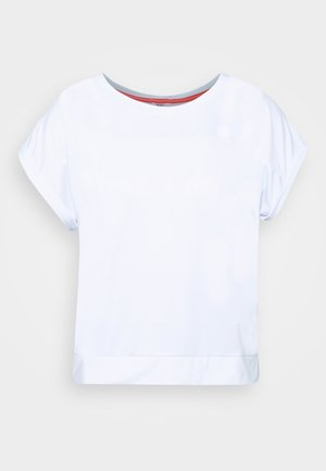 LETS - Camiseta estampada - bright white