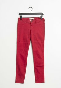 Hollister Co. - Straight leg jeans - red - 0