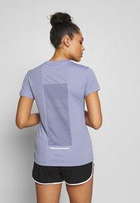 Reebok - Print T-shirt - purple - 2