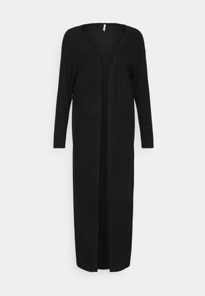 ONLLUNA LONG CARDIGAN - Kardigan - black