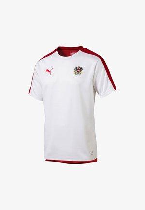 ÖSTERREICH STADIUM TRIKOT - Voetbalshirt - Land - white-red dahlia