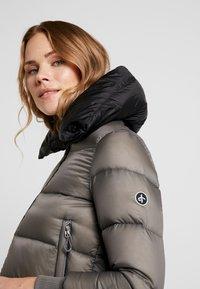 Cross Sportswear - A-SHAPE JACKET - Kurtka puchowa - steel grey - 4
