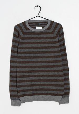 Stickad tröja - multi colored