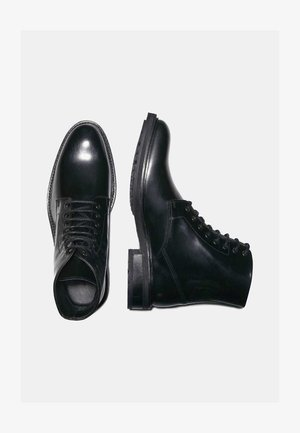 BRITT - Lace-up ankle boots - black